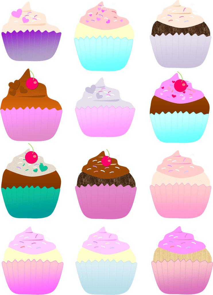 Free halloween cupcake clipart picture library download Cupcake Clipart picture library download