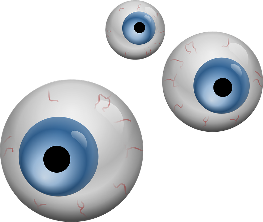 Cute halloween eyes clipart black and white library Halloween Eyes Cliparts#4885113 - Shop of Clipart Library black and white library