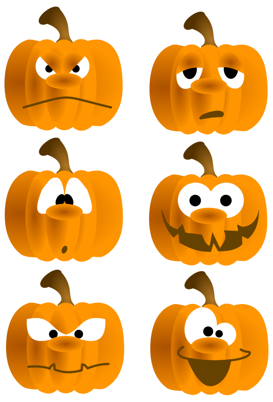Silly pumpkin faces clipart image royalty free download 28+ Collection of Free Pumpkin Face Clipart | High quality, free ... image royalty free download