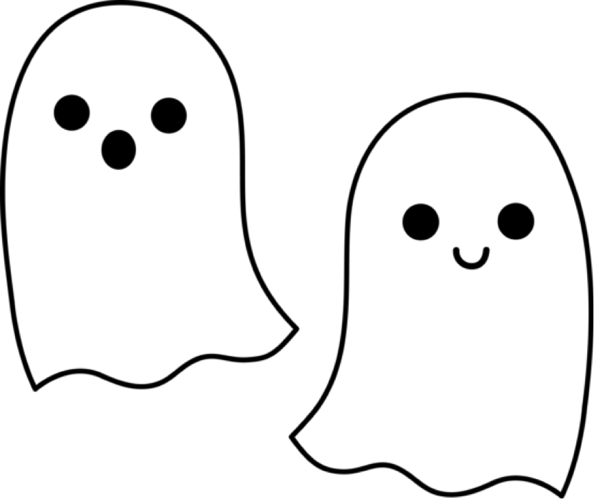 Cute halloween ghost clipart clip art freeuse download Ghost Outline Clip Art | Clipart Panda - Free Clipart Images ... clip art freeuse download
