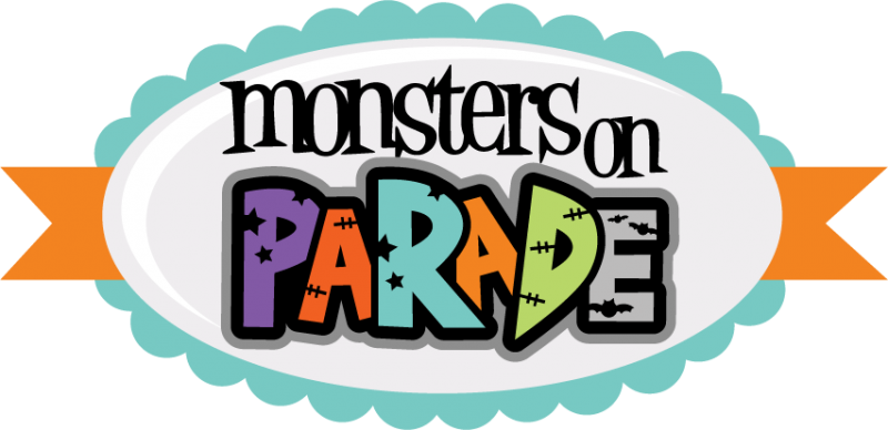 Cute halloween monster clipart free png library library Monsters On Parade SVG cut files for scrapbooking monster svgs cute ... png library library