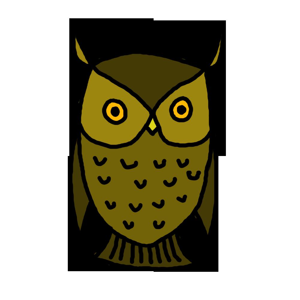 Panda free images. Cute halloween owl clipart