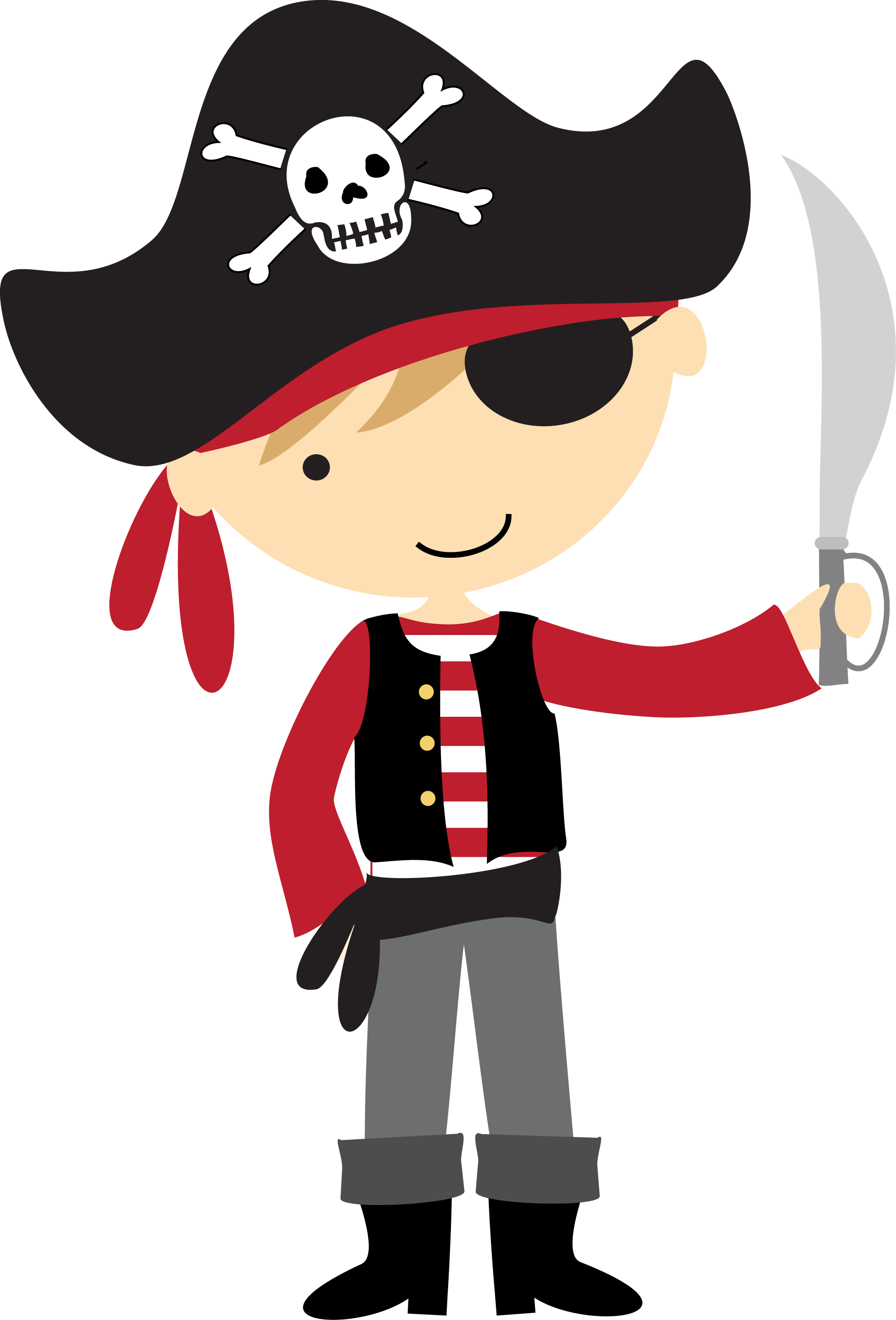 Pin by mur murg. Cute halloween pirate clipart