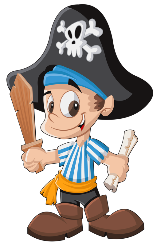 Pirate halloween clipart png free pirate clipart | Dibujos Colores | Pinterest | Svg file, Summer ... png free