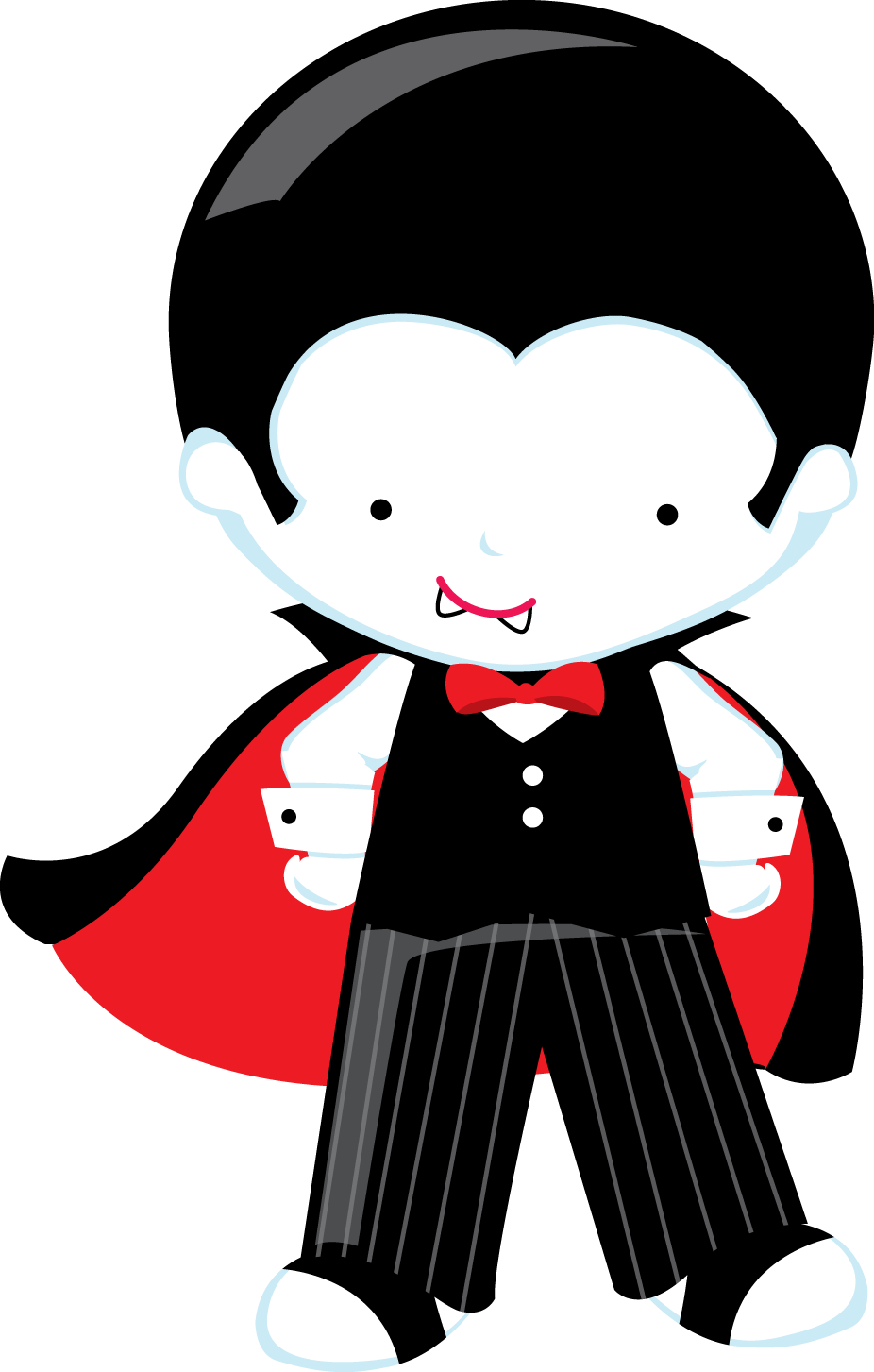 Zwd witch dracula png. Cute halloween vampire clipart