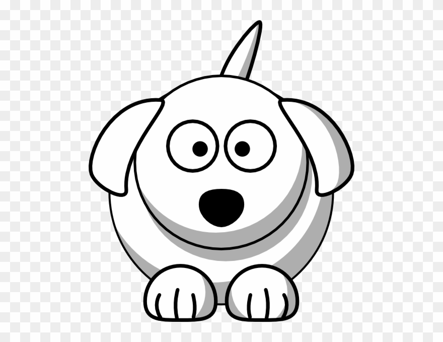 Cute happy dog clipart black and white png free stock Puppy Dog Face Clip Art - Cute Dog Line Drawing - Png ... png free stock