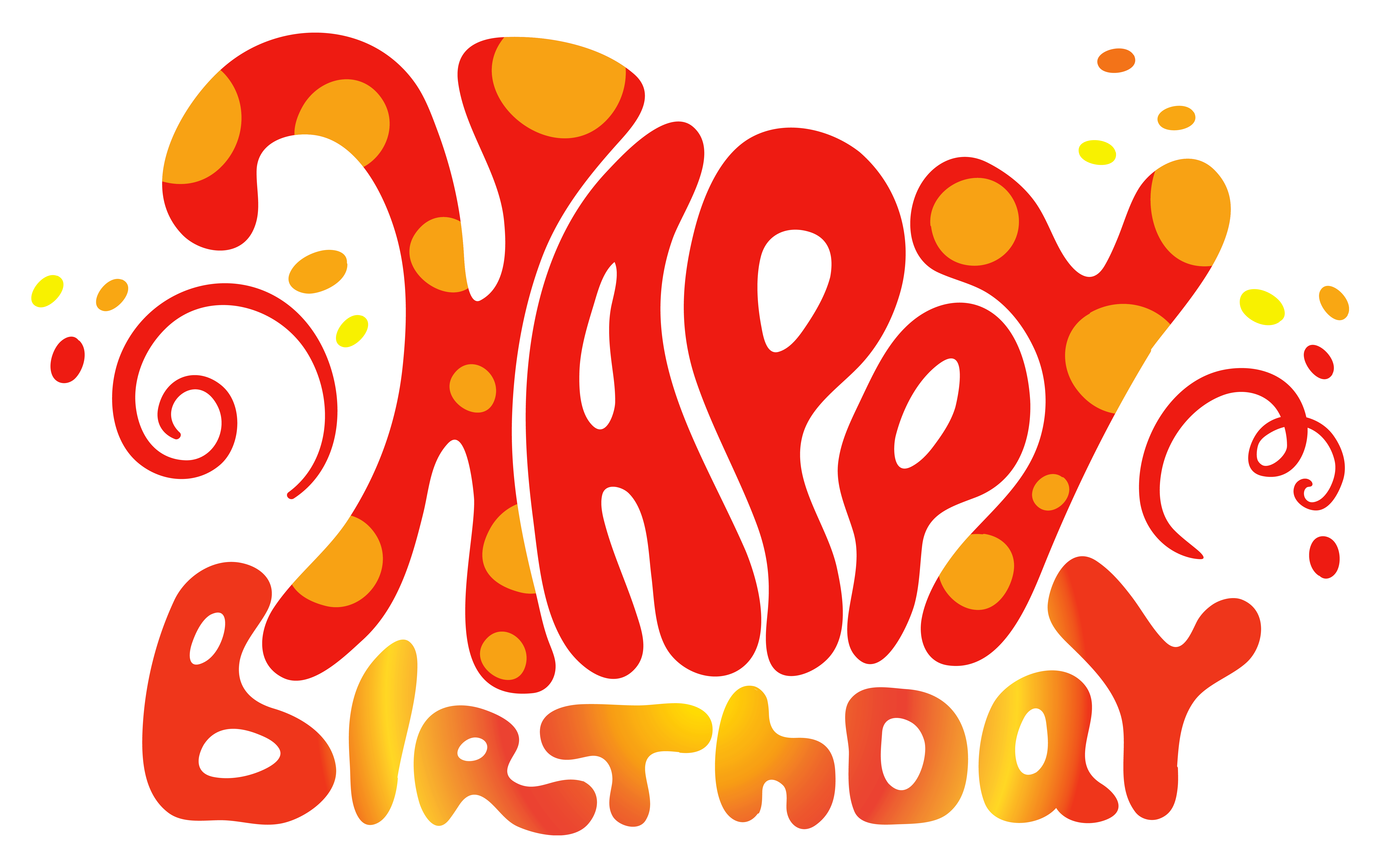Happy birthday halloween clipart picture transparent library Red Cute Happy Birthday Text PNG Clipart | Gallery Yopriceville ... picture transparent library