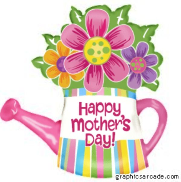 Cute happy mothers day cliparts banner black and white library Happy Mother\'s Day poster. | Quotes and Posters | Happy mothers day ... banner black and white library