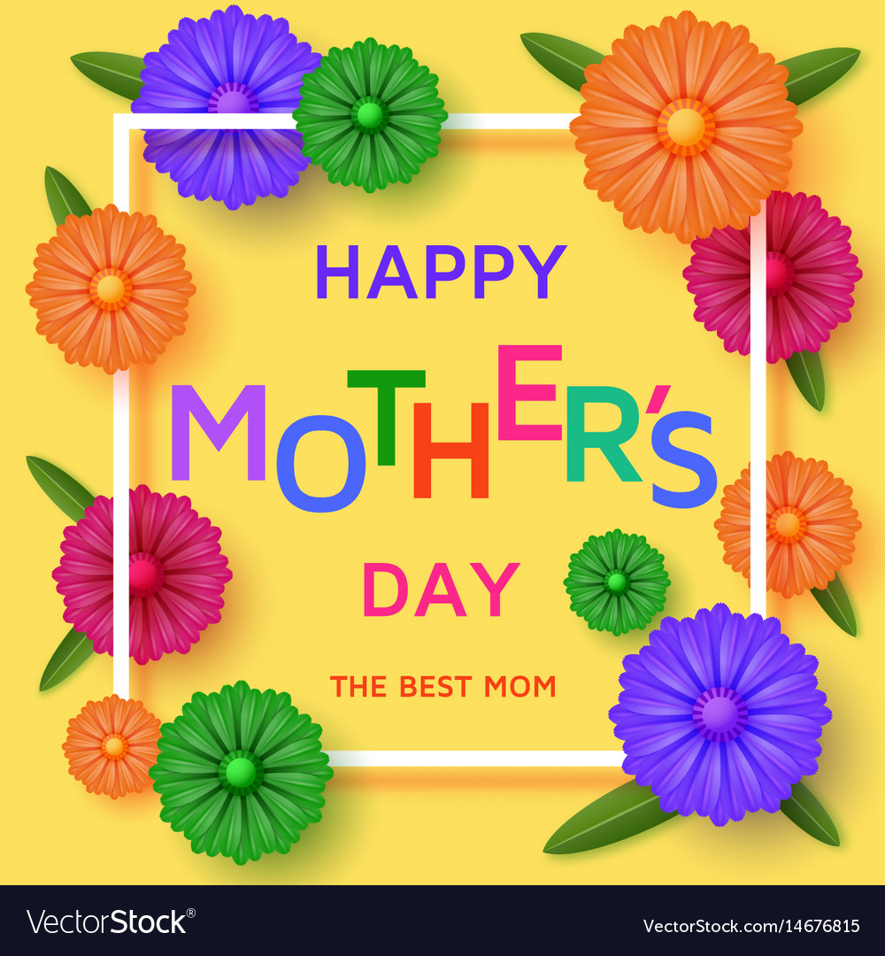 Cute happy mothers day cliparts jpg library Cute happy mothers day background in paper art jpg library