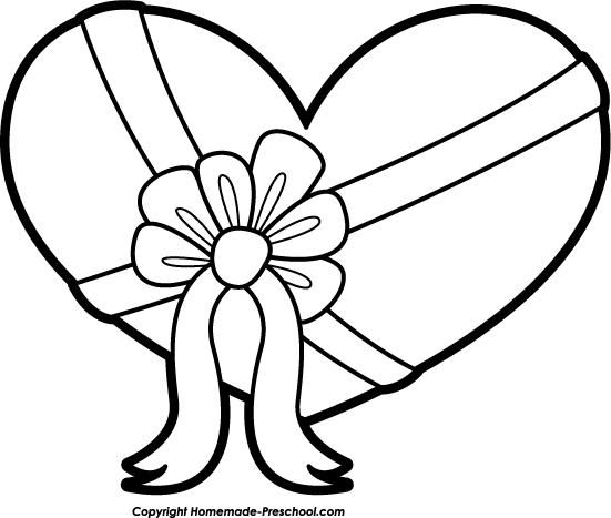 Cute hearts clipart black and white black and white stock Heart black and white cute heart clipart black and white ... black and white stock