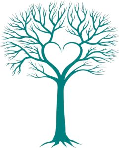 Cute hearts clipart blue clipart library download This would make a cute family tree-- place your family name inside ... clipart library download