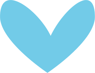 Cute hearts clipart blue image library Cute Heart Clipart & Cute Heart Clip Art Images - ClipartALL.com image library