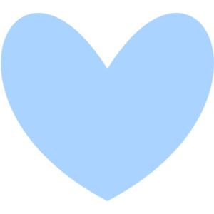 Cute hearts clipart blue clipart stock Blue heart clipart - ClipartFox clipart stock