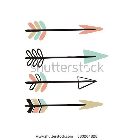 Cute horizontal arrow clipart svg black and white library Indian Arrow Stock Images, Royalty-Free Images & Vectors ... svg black and white library