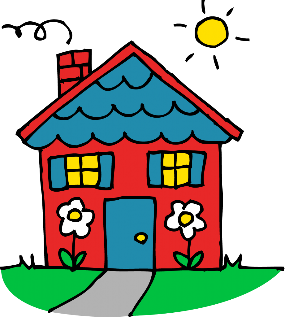 Cute house clipart images vector black and white stock 28+ Collection of Cute Home Clipart Png | High quality, free ... vector black and white stock