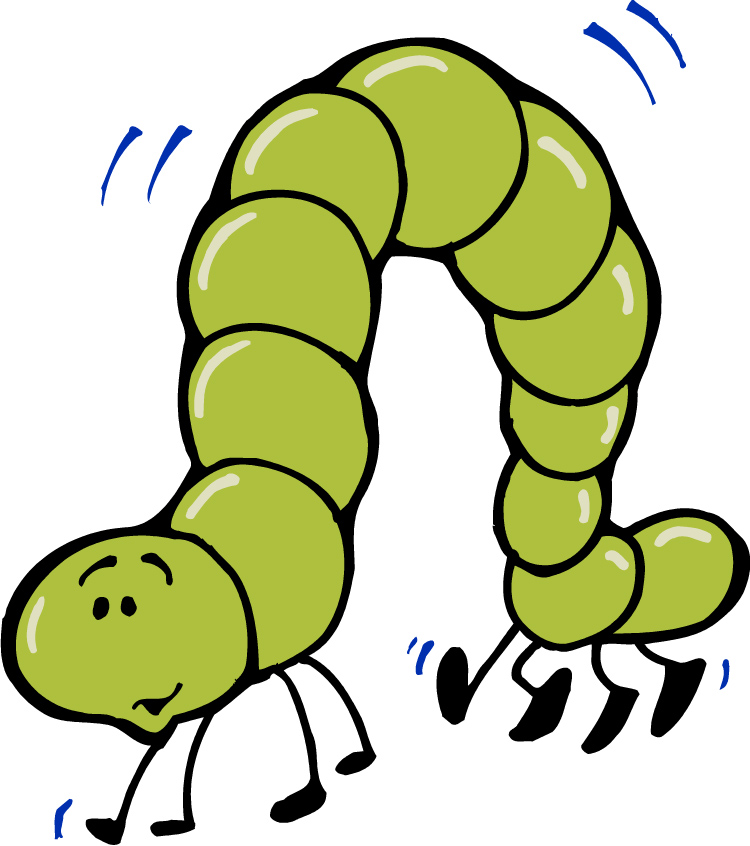 Library of cute inchworm banner download png files Clipart ...