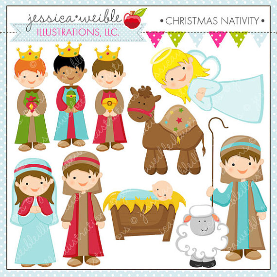 Cute jesus clipart clipart clipart royalty free download Cute Nativity Clipart - Clipart Kid clipart royalty free download