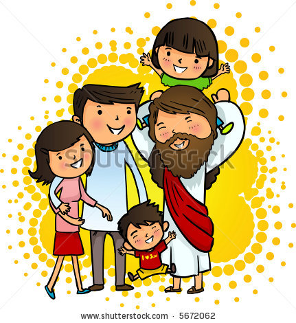 Cute jesus clipart clipart clip free library Cute jesus with children clipart - ClipartFox clip free library