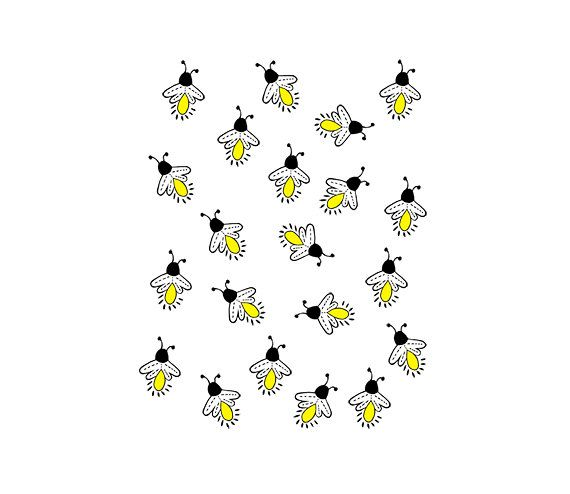 Cute lightning bug black and white clipart clip transparent download Firefly Bug Clipart Fireflies Lightning Bugs | Writing | How to draw ... clip transparent download