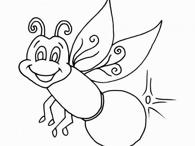 Lightning Bug Drawing at PaintingValley.com | Explore collection of ... vector free library