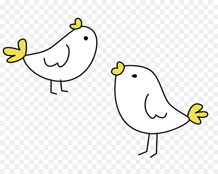 Cute little birds clipart jpg free library Bird Line Drawing png download - 1200*948 - Free Transparent ... jpg free library