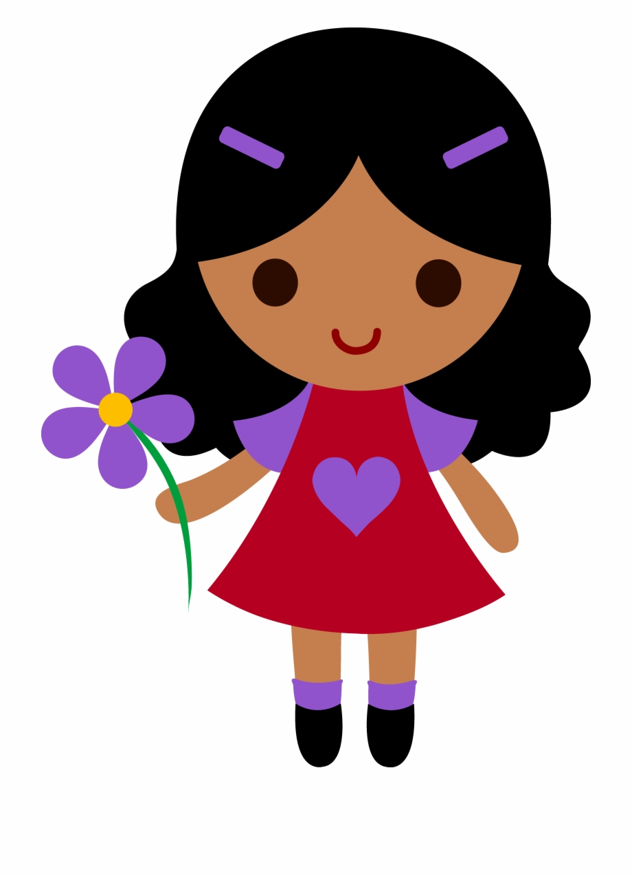 Girl clipart transparent clipart freeuse stock Cute Cartoon Girl Transparent Picture Mart Png - Little Girl ... clipart freeuse stock