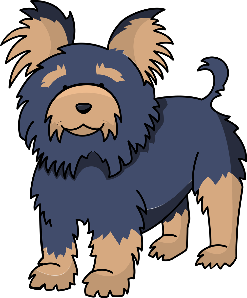 Cute little yorkies climbing png clipart clipart library stock Yorkie Dog Clipart | Free download best Yorkie Dog Clipart ... clipart library stock