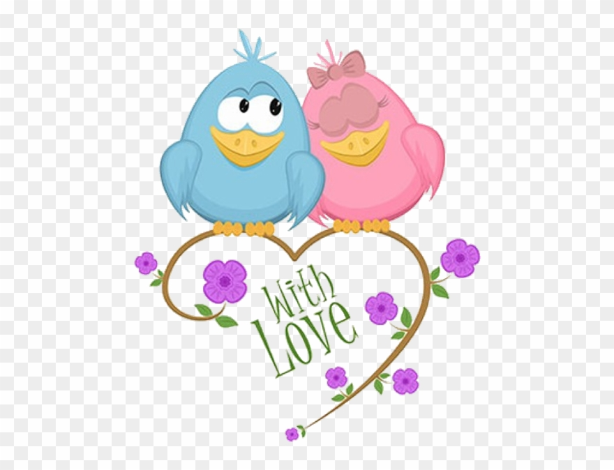 Cute love birds clipart freeuse Cute Love Birds Cartoon Clip Art Images - Love Birds Clipart ... freeuse