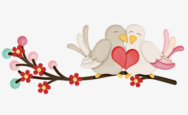 Cute love birds clipart graphic royalty free stock Cute Love Birds PNG, Clipart, Bird, Birds, Birds Clipart ... graphic royalty free stock