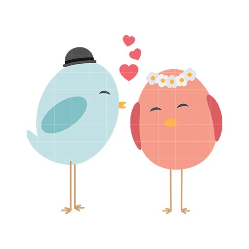 Cute love birds clipart picture library stock Cute love birds clipart 4 » Clipart Portal picture library stock