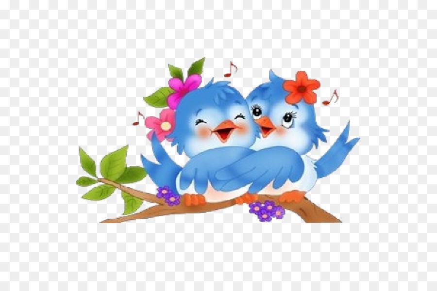 Cute love birds clipart clip art free stock Cartoon Bird png download - 600*600 - Free Transparent Bird ... clip art free stock