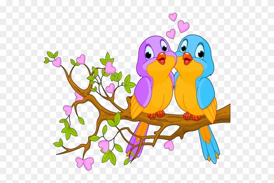 Cute love birds clipart jpg free download Cute Love Birds Cartoon Clip Art Images - Birds Clipart ... jpg free download