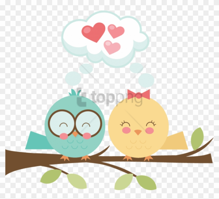 Cute love birds clipart picture library download Free Png Download Clouds Birds Png Images Background - Cute ... picture library download