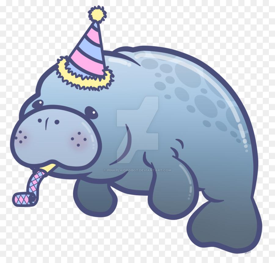 Cute manatee clipart svg free Baby Elephant Cartoon clipart - Elephant, Fish, transparent ... svg free