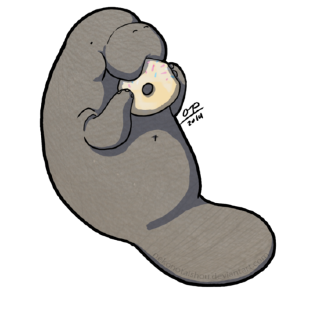 Cute manatee clipart banner transparent stock Cute Manatee Drawing | Free download best Cute Manatee ... banner transparent stock