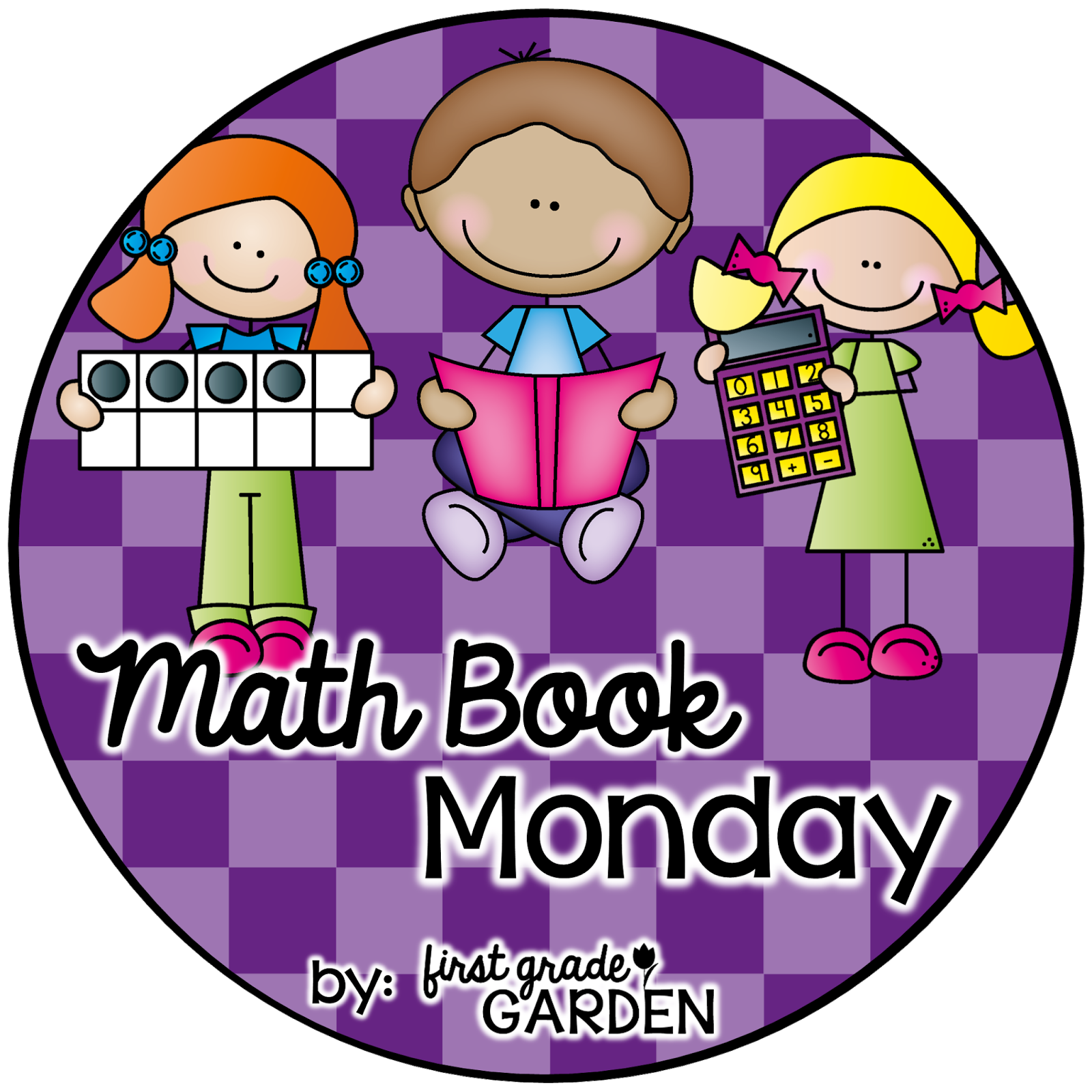Cute math book clipart images graphic library download First Grade Garden: April 2015 graphic library download