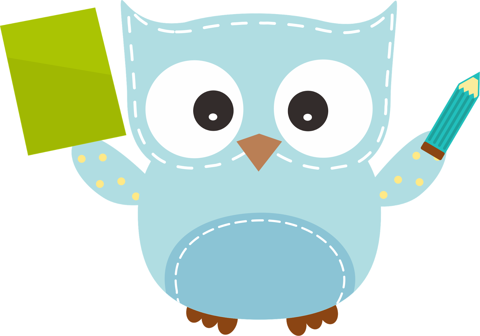 Cute math book clipart images. Owl kid png manualidades