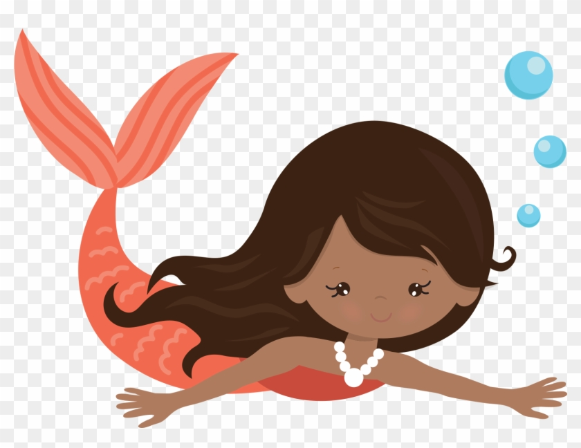 Cute mermaid clipart graphic royalty free Clipart Png Mermaid - Cute Mermaid Swimming Clipart ... graphic royalty free