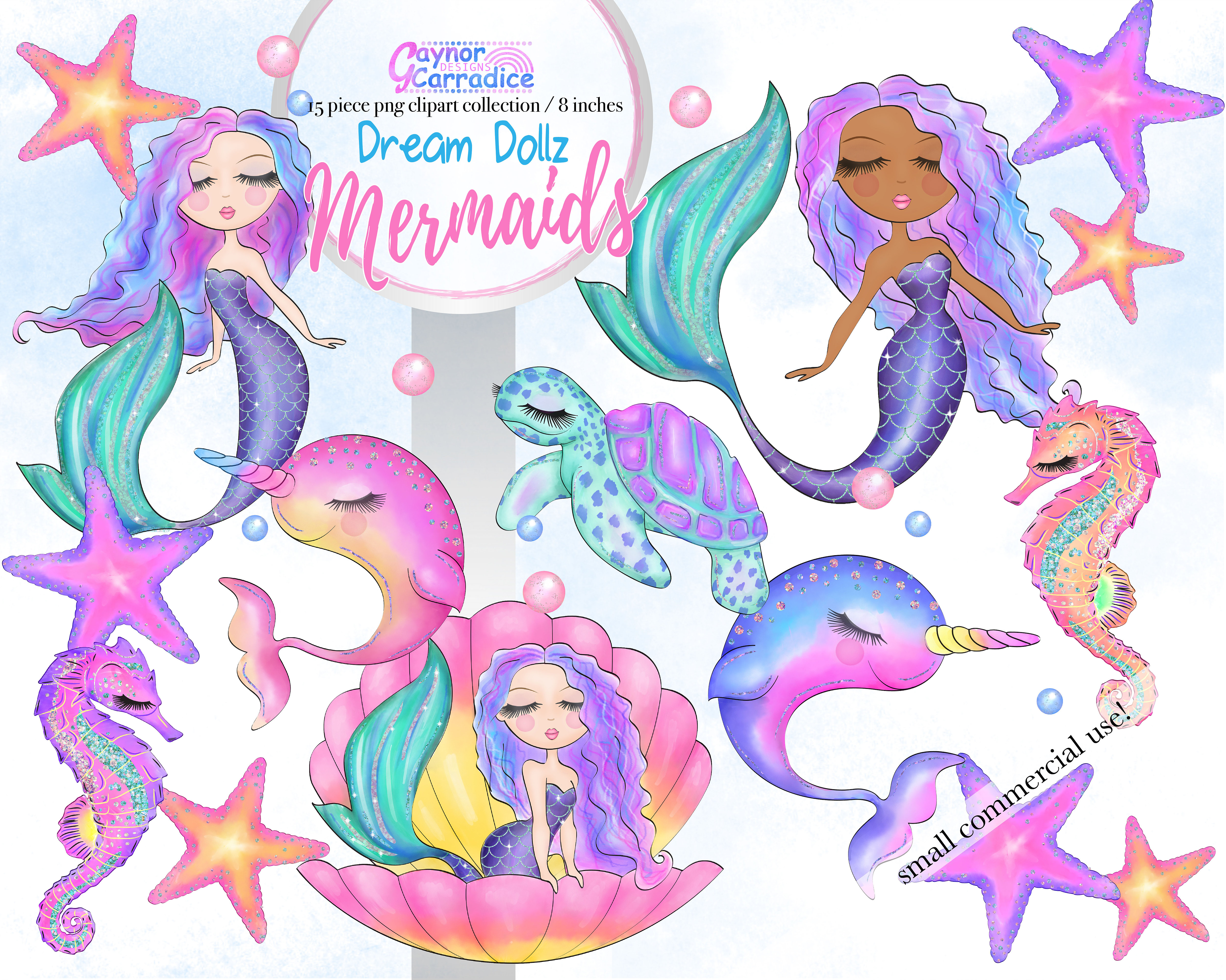 Cute mermaid clipart svg library library Dream Dollz Mermaids clipart collection svg library library