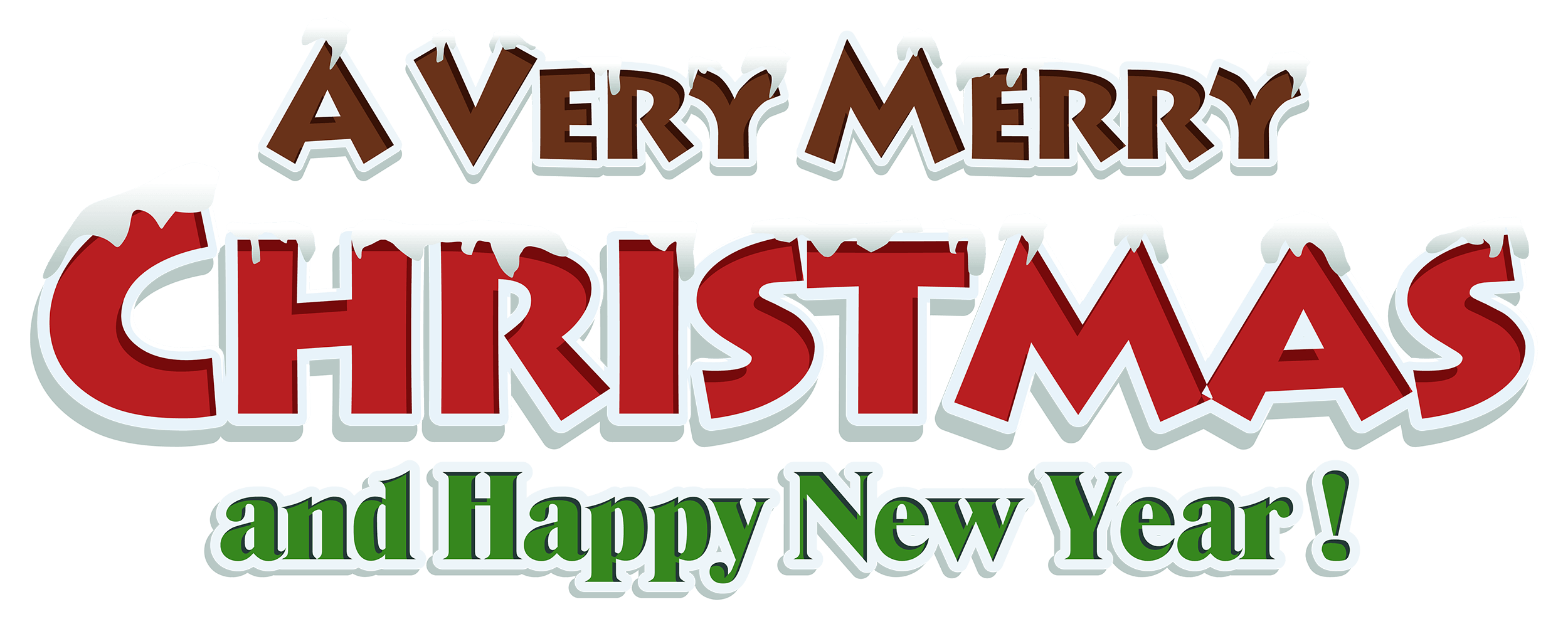 Free merry christmas clipart svg freeuse download Merry Christmas And Happy New Year Clipart Group (58+) svg freeuse download