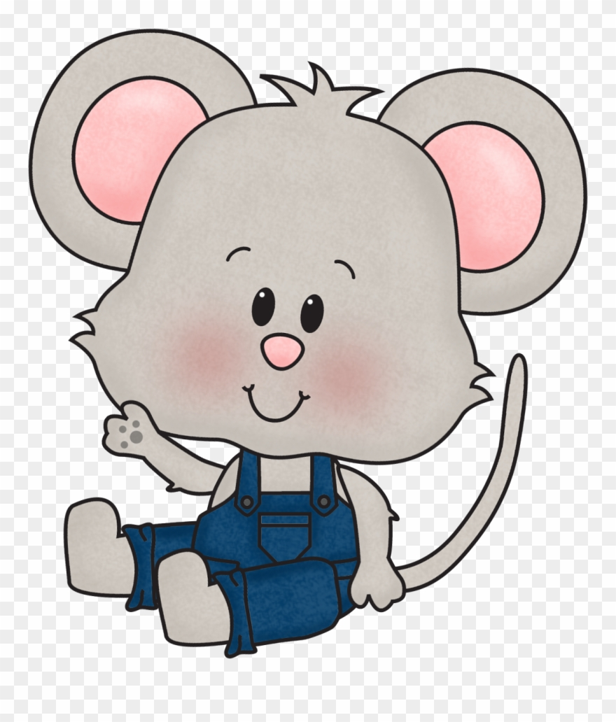 Cute mice clipart black and white download Cute Mouse Clipart - Png Download (#38914) - PinClipart black and white download