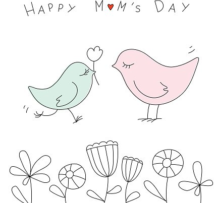 Cute mothers day clipart image transparent download Happy Mothers Day With Cute premium clipart - ClipartLogo.com image transparent download