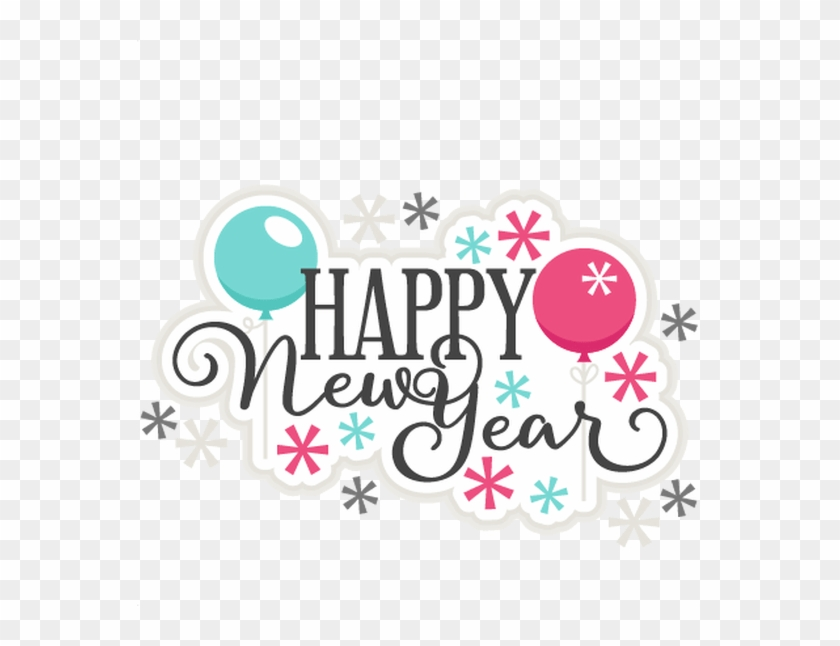 Cute new years clipart graphic transparent Happy New Year Clipart Teal - Cute Happy New Year Png, Transparent ... graphic transparent