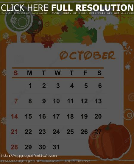 Cute october 2016 clipart. Clipartninja calendar