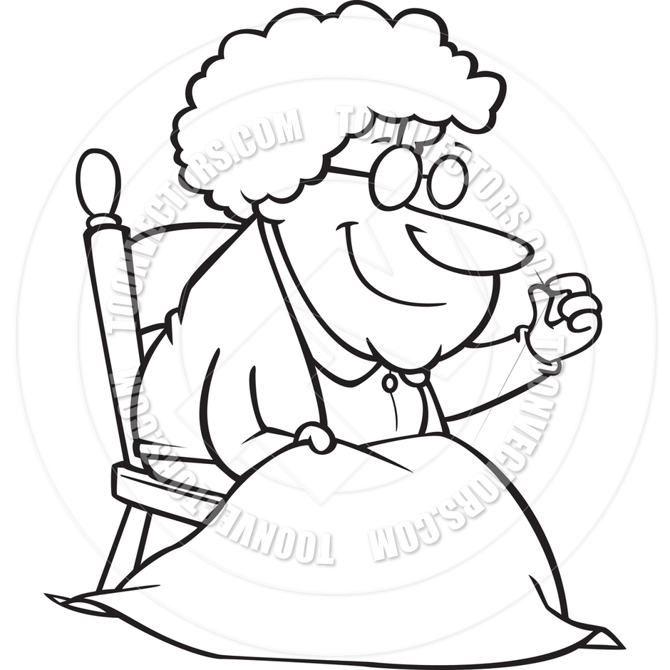 Old & young black & white clipart png transparent Old Lady Cartoon Clipart | Free download best Old Lady ... png transparent