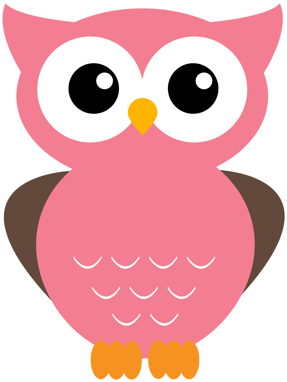 Cute owls clipart owl holding a note
