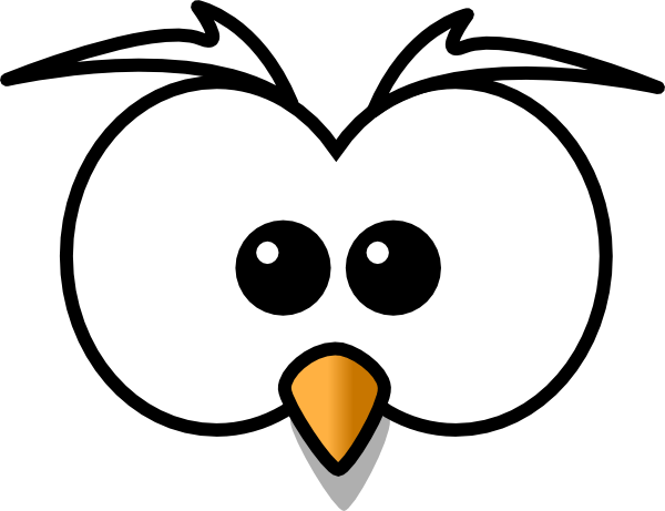 Cute owl eyes clipart black and white picture library stock Owl Eyes Cliparts - Cliparts Zone picture library stock