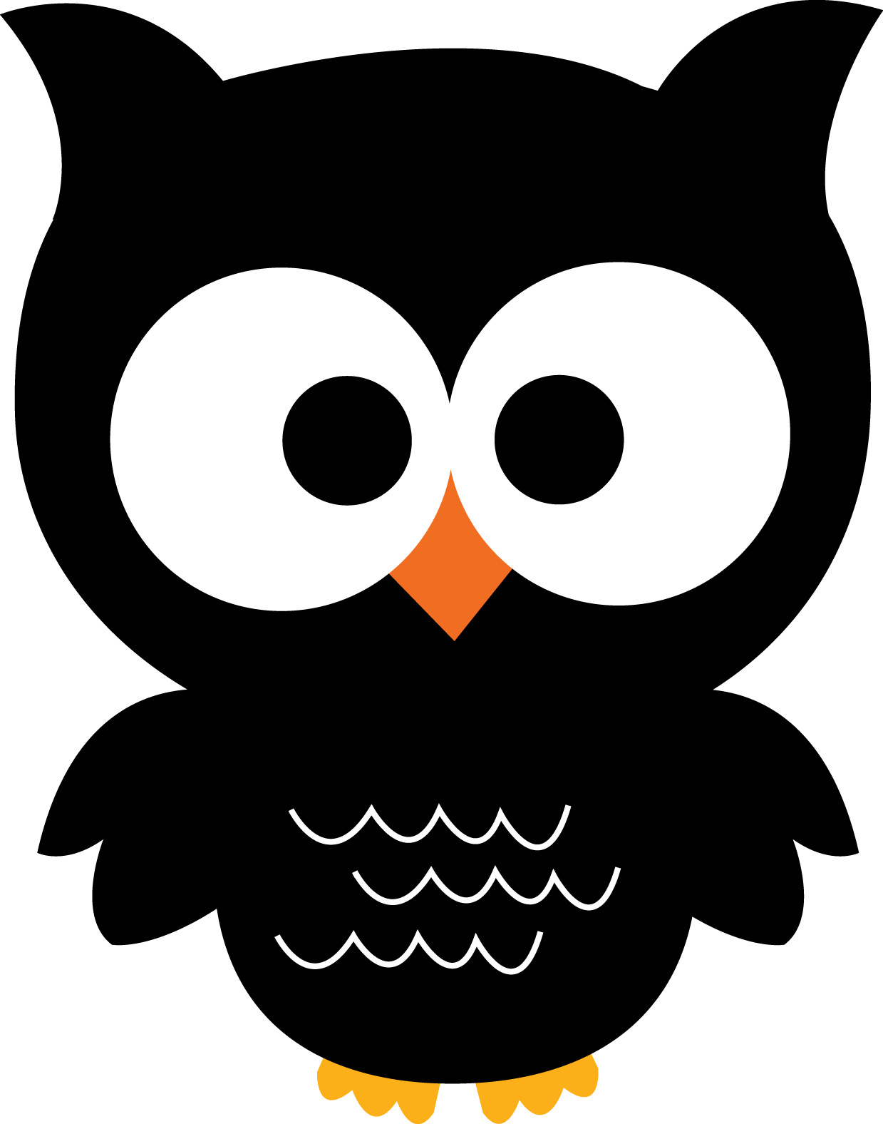 Cute owl halloween clipart vector transparent Giggle and Print: 20 ADORABLE Owl Printables! Ohh These are so cute ... vector transparent