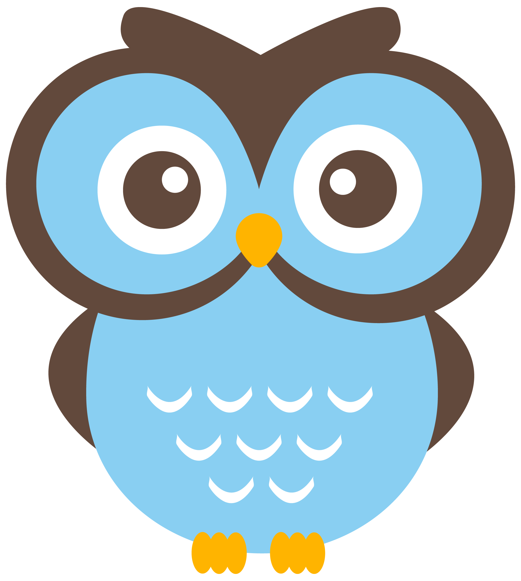 Cute owl on tree clipart graphic free download Cute Owl Png clipart free image graphic free download