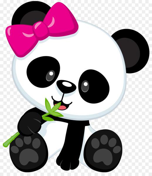 Cute panda bear clipart banner download Giant panda Bear Baby Pandas Clip art - cute panda - Nohat banner download